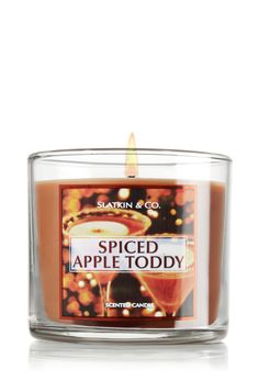 Spiced Apple Toddy 4 oz. Small Candle - Slatkin & Co. - Bath & Body ...