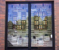 bonfir, store windows, store window displays, incred window