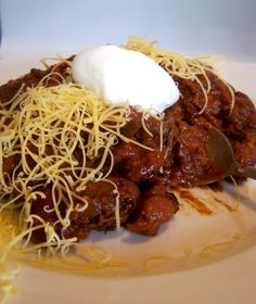 Fire Roasted Steak Chili with Beans from The Food Channel