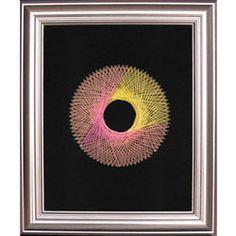 String Art Fun Free Circle Pattern 2