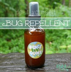 All-Natural Bug Repellent
