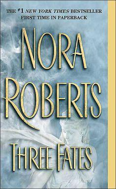 treasures, books, favorit author, worth read, nora roberts three fates