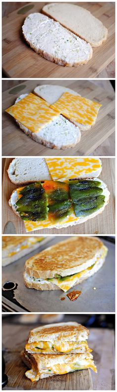 Jalapeno Popper Grilled Cheese....oh my!