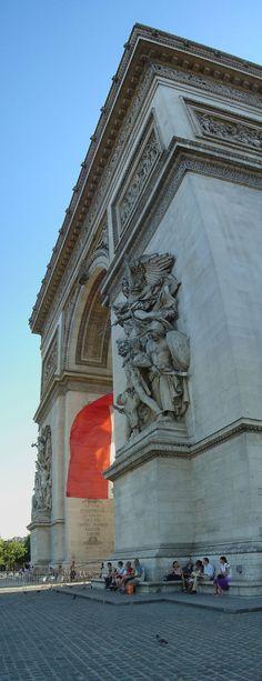L'Arc de Triomphe,Paris,France