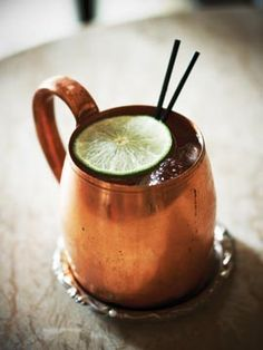 Moscow Mule ...One of my favorites!