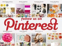 Create a Wedding Board on Pinterest! We have thousands of photos to get you started! Click HERE>> http://pinterest.com/perfectpalette/ (please repin!)