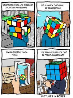 El cubo Rubik y la vida