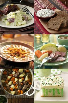 St. Patrick's Day Recipes from Taste of Home :: Looking for St. Patrick's Day recipes? From traditional Irish recipes like corned beef and Irish stew to fun green food with shamrocks, find ideas for your St. Patrick's Day party in this recipe collection. :: http://pinterest.com/taste_of_home/ St Patrick s Day