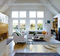 bright space/natural light.