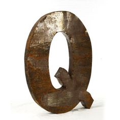 Metal Letter Q now featured on Fab.