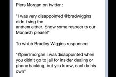Piers Morgan vs Bradley Wiggins