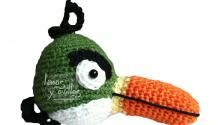 Angry Bird Amigurumi Patron : Projects:: Pinned there, done that! on Pinterest ...