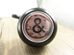 Ampersand and cork bike bell inspired by vintage typewriter key. | Shared by velojoy.com