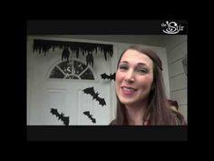 ▶ Make Your Door BAT-tiful this Halloween! - Crafty Mom's Weekly Challenge - Episode 16 - YouTube