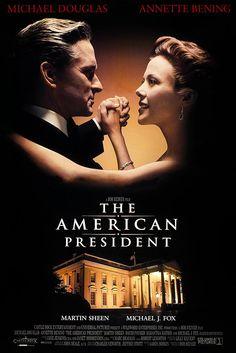 The American President (1995) starring Michael Douglas & Annette Bening