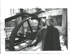 Interior of the Grand Rapids Public Museum during construction - March 21, 1993