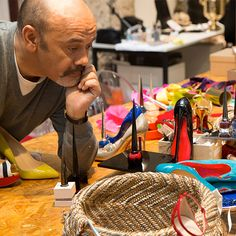 Behind the scenes w/ Christian Louboutin & his 1st line of beauty products. More coming soon. #Beauty #ChristianLouboutin #Sephora