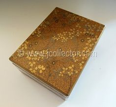Japanese lacquer letter or gift box at www.Jcollector.com