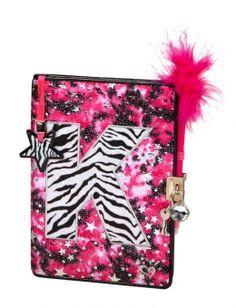 Zebra Dye Effect Initial Diary