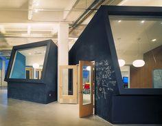chalkboard wall office
