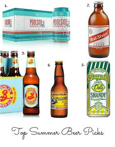 Yummy Summer Beers |