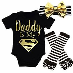 "G&G - Cute Baby Girl Daddy Is My Superman Outfits With Ma... <a href=""http://www.amazon.com/dp/B01ERQQ7T0/ref=cm_sw_r_pi_dp_myQmxb075QBAB"" rel=""nofollow"" target=""_blank"">www.amazon.com/...</a>"