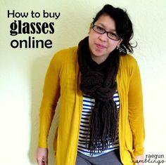 How to Successfully Buy Glasses Online - Rae Gun Ramblings