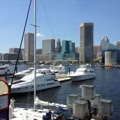 Baltimore Inner Harbor!
