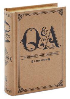 Q a Day Five Year Journal   Mod Retro Vintage Desk Accessories   ModCloth.com