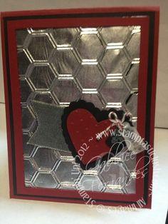 Stampin Up Valentine Card