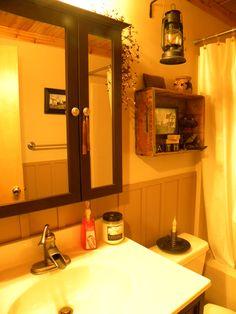 My barn themed bathroom.