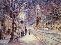Christmas Eve In My Home Town - Bobby Vinton