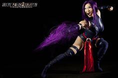 Psylocke  Model: Yaya Han  Photography: SuperHero Photography by Adam Jay