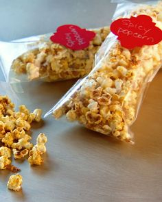 Spicy Popcorn - Martha Stewart Recipes