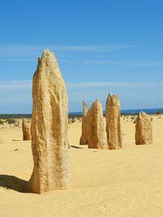 The Pinnacles near Perth, Australia #travel