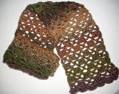 Bricks & Lattice Scarf - Crochet A Trunk-Full O' Fun!
