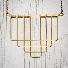 Layered Deco Necklace by HELLBENTbyBN on Etsy