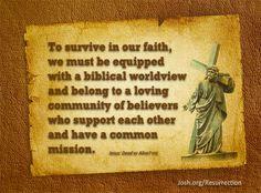 reclaim easter, quot board, biblic worldview