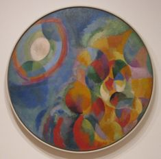 Artist Study - Robert Delaunay - Simultaneous Contrasts-Sun and Moon