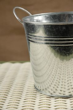 """Buckets  Galvanized with Handles 5.5""""   $3.99 each  / 10 for $3.40 each"""