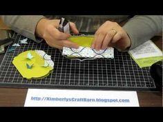Unique-shaped card using Lables Framelits