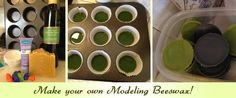 Adventures in Waldorf Toy Making: Make your own Modeling Beeswax
