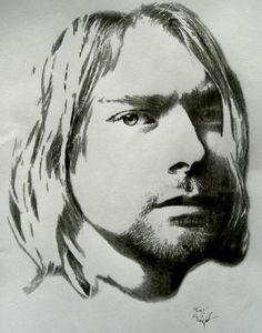 Kurt Cobain - Pencil by EddieTheYeti.deviantart.com