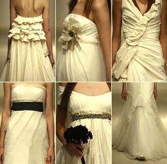 6 opciones de vestidos de novia