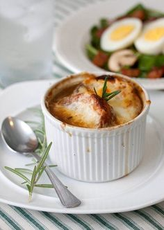 Julia Childs' french onion soup
