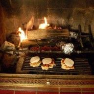 Camping indoors - cooking in your fireplace, what wood to use and what wood NOT to use, what tools to keep handy, etc.