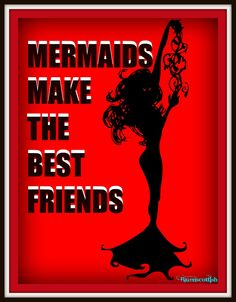red friend Mermaids Rock!