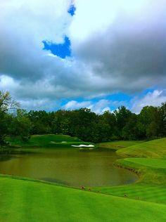 Par 3, #12 at Muirfield Village Golf Club