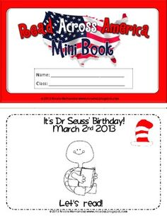 Read Across America Mini Book