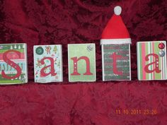 Santa Blocks